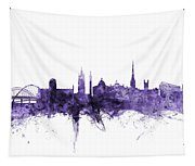 Newcastle England Skyline Tapestry