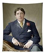 Oscar Wilde (1854-1900) Tapestry