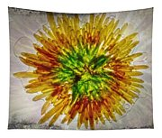 11262 Flower Abstract Series 02 #16a Tapestry