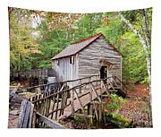 1267 Great Smoky Mountain Cable Mill Tapestry