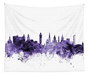 Glasgow Scotland Skyline Tapestry