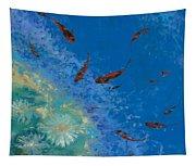 13 Pesciolini Rossi Tapestry