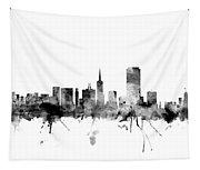 San Francisco City Skyline Tapestry