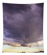 Afternoon Nebraska Thunderstorm Tapestry