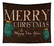 Christmas Greetings Tapestry