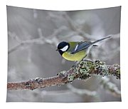 Great Tit Tapestry