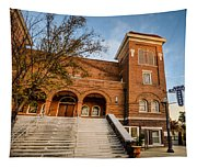16th Street Baptist Church Steps In Birmingham Alabama Tapestry