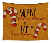 Christmas Greetings Tapestry