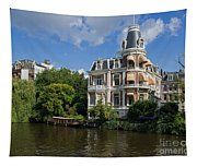 Canals Of Amsterdam Tapestry