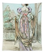 1803 Paris France Fashion Drawing Tapestry