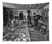 1860's Ore Assay Office Shop - Montana Tapestry