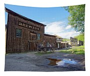 1863 H. S. Gilbert Brewery - Virginia City Ghost Town Tapestry