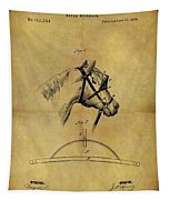1874 Horse Blinder Patent Tapestry