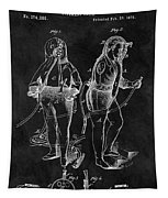 1876 Fireman Suit Patent Tapestry