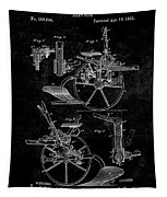 1882 Sulky Plow Patent Tapestry