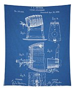 1883 Beer Faucet Design Tapestry