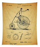 1883 Bicycle Tapestry