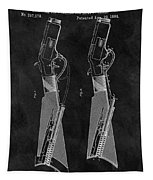 1884 Rifle Patent Tapestry