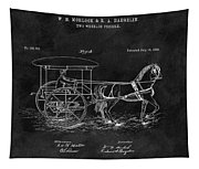 1888 Horse Drawn Carriage Tapestry