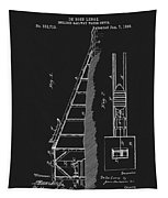 1896 Water Roller Coaster Tapestry