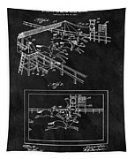 1899 Horse Track Patent Tapestry