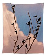 19 Blackbirds Tapestry
