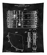 1900 Orchestra Drum Patent Tapestry