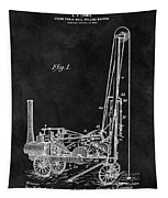 1902 Oil Well Patent Tapestry
