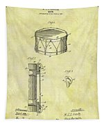1905 Drum Patent Tapestry
