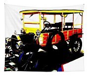 1912 Ford Model T Taxi Tapestry