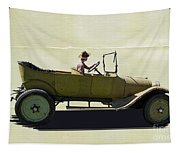 1918 Dodge Ww 1 Army Touring Vehicle Tapestry