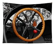 1920-1930 Ford Racer Dash Tapestry