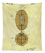 1925 Football Patent Tapestry