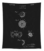 1925 Golf Ball Patent Tapestry