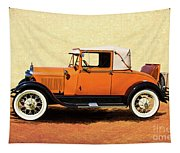 1928 Classic Ford Model A Roadster Tapestry