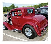 1930 Red Ford Model A-rear-8902 Tapestry