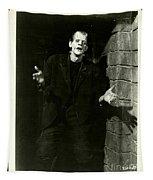 1931 Frankenstein Boris Karloff Tapestry