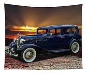 1933 Chevrolet 4 Door Eagle Sedan Tapestry
