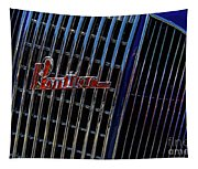 1935 Pontiac 2 Door Sedan Grill Logo Tapestry
