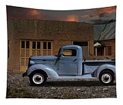 1937 Chevy Pickup Truck Tapestry