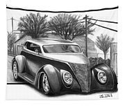 1937 Ford Sedan Tapestry