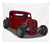 1937 Ford Truck Hot Rod Tapestry
