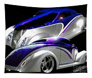 1937 Striped Coupe Tapestry