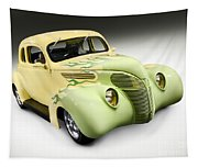 1938 Hot Rod Ford Coupe Tapestry