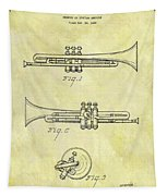 1940 Trumpet Patent Tapestry