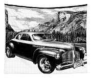 1941 Roadmaster - Half Dome Tapestry