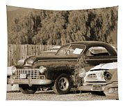1946 Dodge In Sepia Tapestry