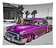 1949 Chevy Bomb_ 25a Tapestry