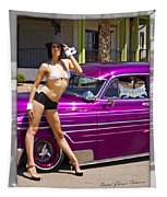 1949 Chevy Bomb_ 25d Tapestry