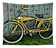1949 Shelby Donald Duck Bike Tapestry